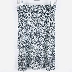Cynthia Rowley Abstract Print Stretch Skirt